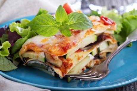 Lasagna cu reteta de legume