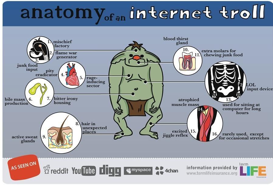 Pierdere în greutate internet troll pierde grasimea corporala a barbatilor
