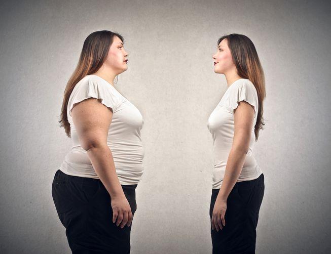 modificarea formei corpului, dar fără pierdere în greutate