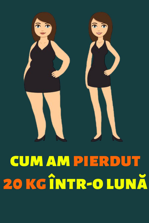 pierdere în greutate 15 kg într-o lună