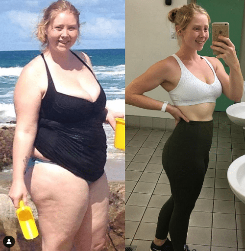 Pierdere în greutate de 76 kg