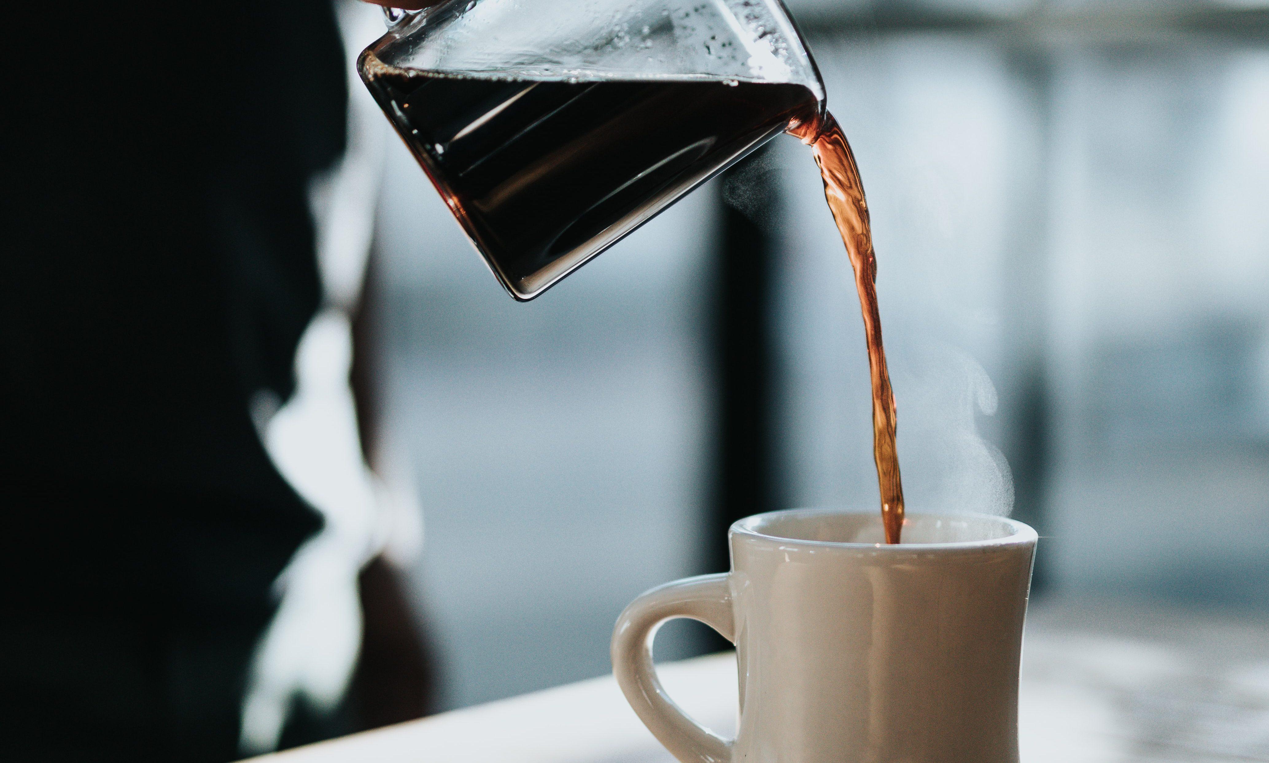 corpul de cafea subțire
