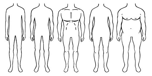 Tipurile de corp la barbati | Gabi Urda