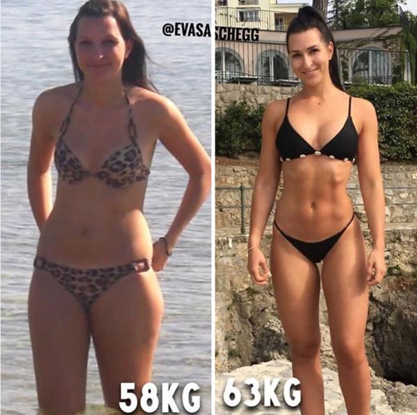 Nathalie Paris scădere în greutate
