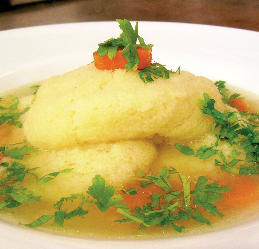 Supă dietetică cu găluşte