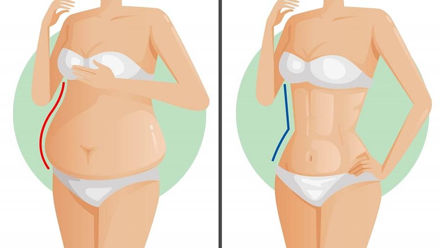 Iata cum scapi de grasimea abdominala! | Catena