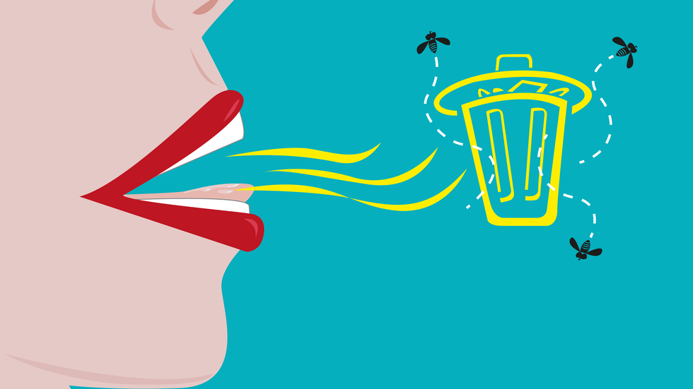 pierdere în greutate respirație urât mirositoare