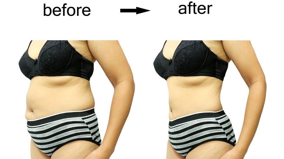 pierdere de cm, dar fără pierdere în greutate