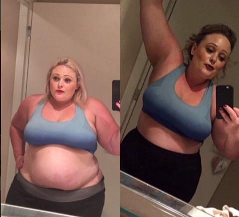 Oana Radu a slăbit 50 de kilograme în 5 luni