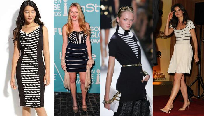 Dungi care slăbesc, Stiinta confirma: Dungile orizontale ale hainelor nu ingrasa! (Galerie foto)