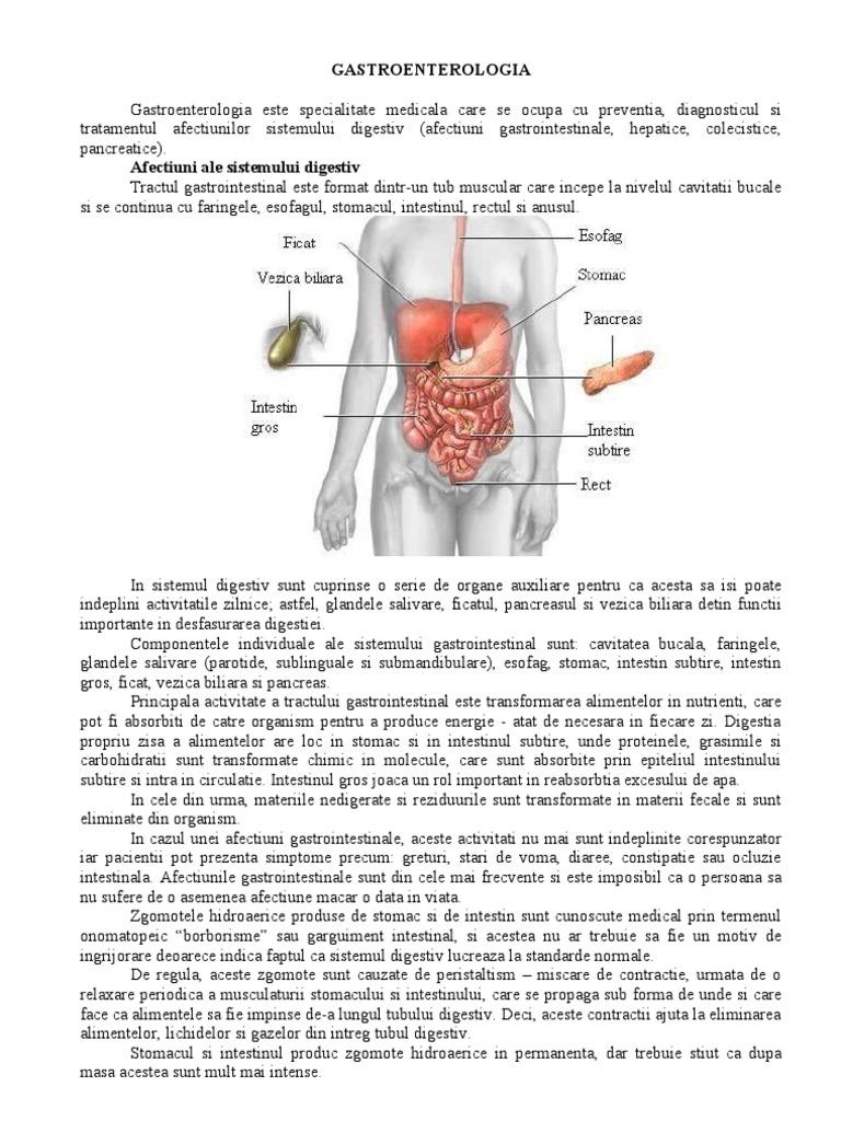 intestinul cauzează pierderea în greutate