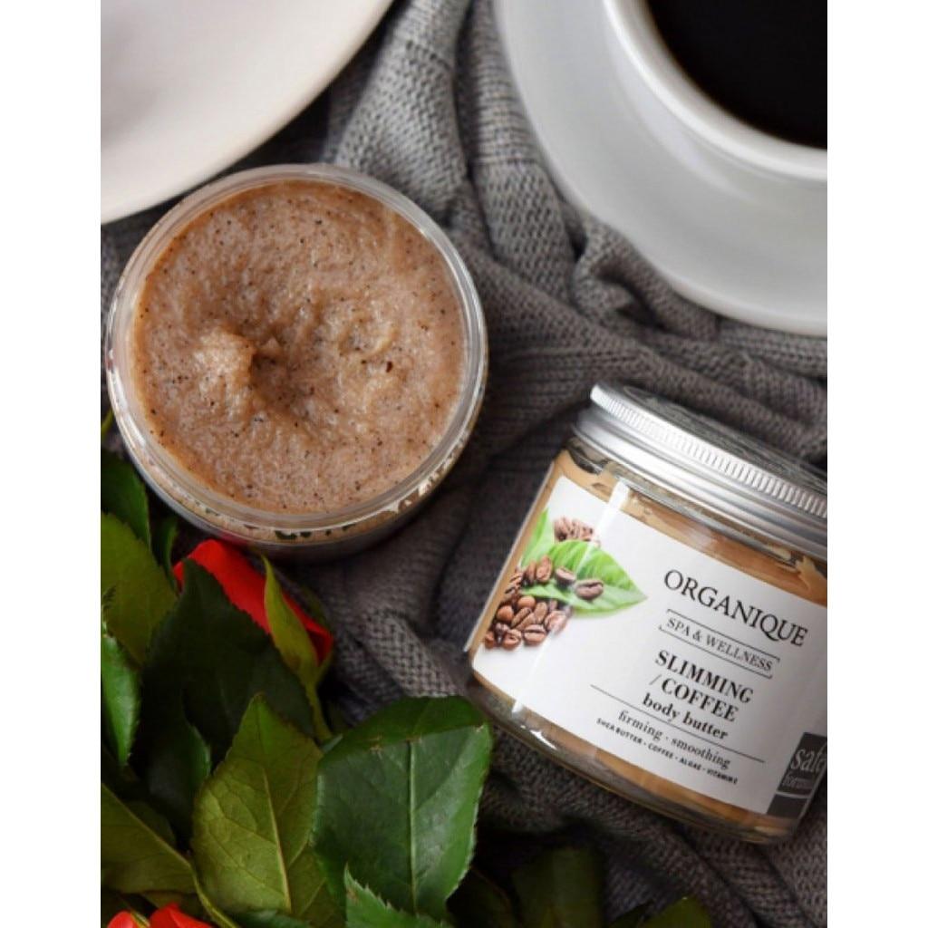 Orlane Body Care Program exfoliant cu cafea, cu efect de slăbire